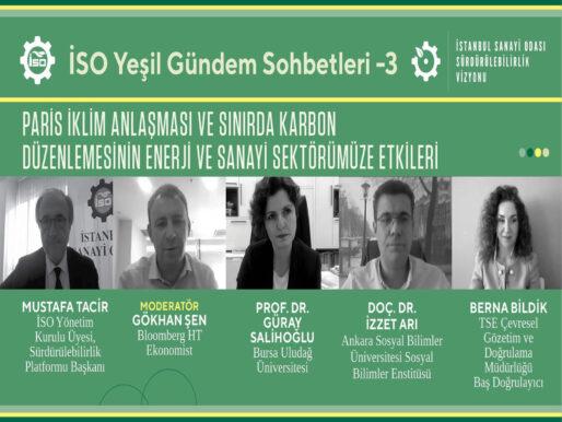 Türkiye'nin yeşil dönüşümün dışında kalma alternatifi yok